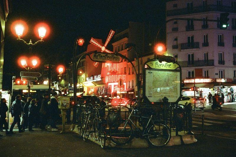 Cinestill800t City Illuminated KonicahexarAF Night Street Streetphotography Streetview