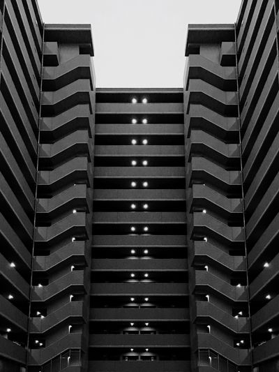 Architecture Blackandwhite Symetrical Building Shot On IPhone 6s Mobilephotography