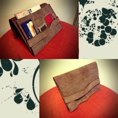 Handmade leather hand bag Handmade Leather Livesimple Handbag  Crafts clutchbag Made with @nocrop_rc rcnocrop