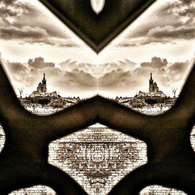 Mystic Bonne Mère Nikonfrance Marseille Architecture Cite Marseillerebelle Bnw_mar Igersmarseille Massilia BonneMère Nd Church Méditerranée N &b Bnw_ma Igersfrance Igerspaca