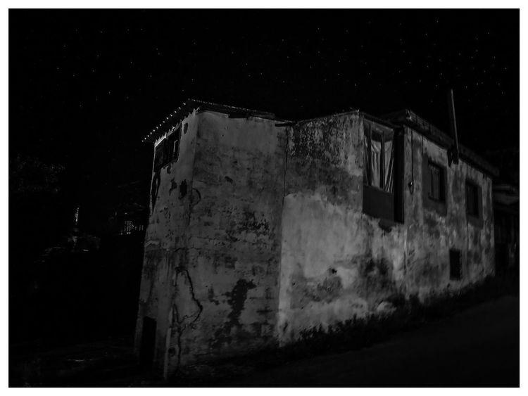 Stars Vol2 Nightphotography Night Stars Outdoors NewHere ✌🏽️😄 No People Sky Old Buildings Village