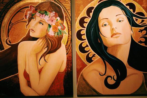 I want someone to paint me 💋 Vscocam Marietta Georgia Art Beautiful Creative
