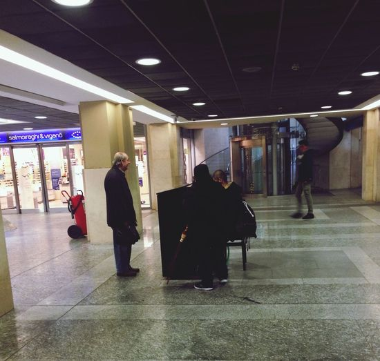 Piano Portanuova Train Station Torino
