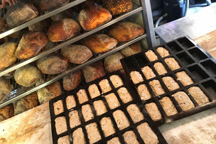 Freshly Baked Fresh Bread Bakery Baking