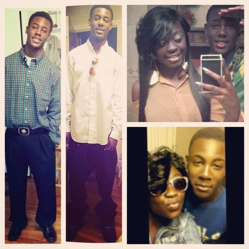 Happy Birthday To My Night, Day All That!! :)) I❤my Brother Man. #1/19/1998