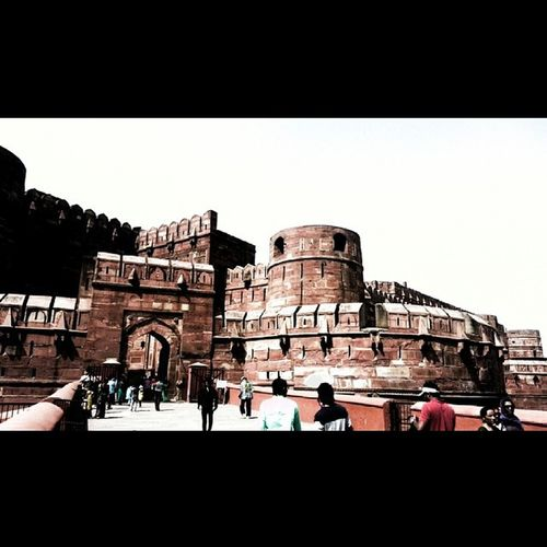 Aagra Fort Red Stones architecturesuperb