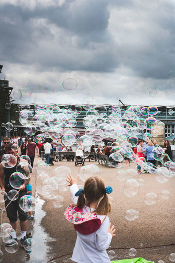 EyeEm LOST IN London Bubbles all around London TateModern Bubbles Happiness