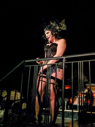 On a Thu in k'berg: queer party w/ stripper