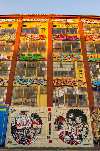 Five Pointz, NYC. Photographed by Cooper Billington. Colors Graffiti Art Five Pointz Lifestyles Multi Colored Outdoors Photo Photography Street Yellow