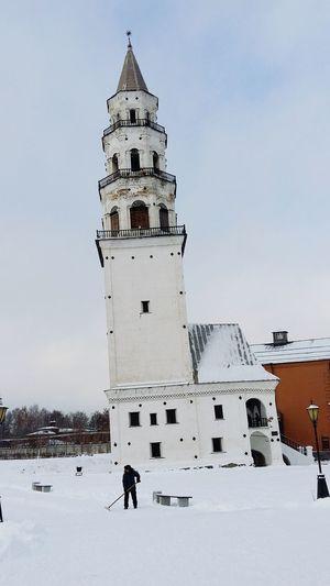 LeaningtowerinNevyansk Rossia