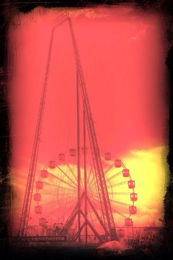 Seaside Faris Wheel Summer Supernormal Beach