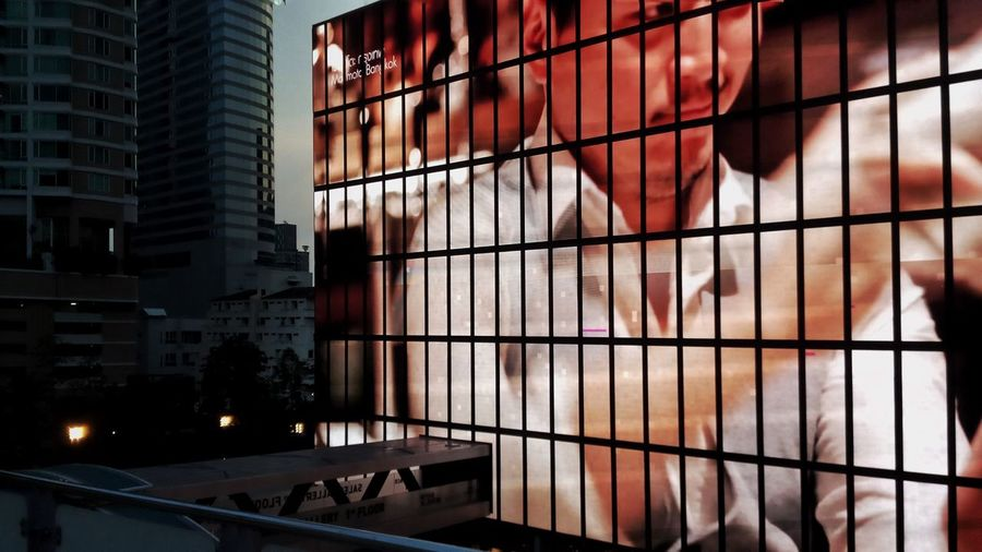 advertising screen at sathorn square Sathorn Square Display Screen Advertising Screen City Modern Architecture Building Exterior Built Structure Office Building Skyscraper Urban Skyline Cityscape Downtown The Traveler - 2018 EyeEm Awards