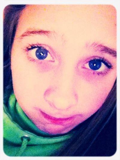 How Yall Like My Blue Eyes :)
