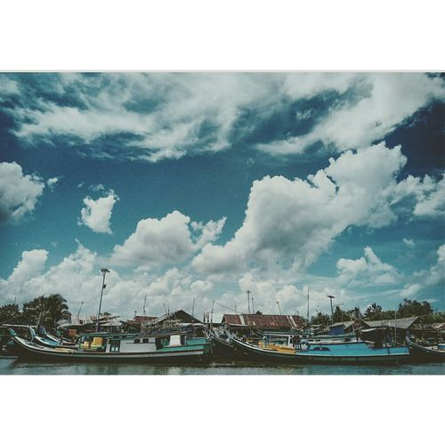 Cloud - Sky Arts Culture And Entertainment Sky Outdoors No People Day Travel Destinations Nautical Vessel Sea Water Architecture Scenics
