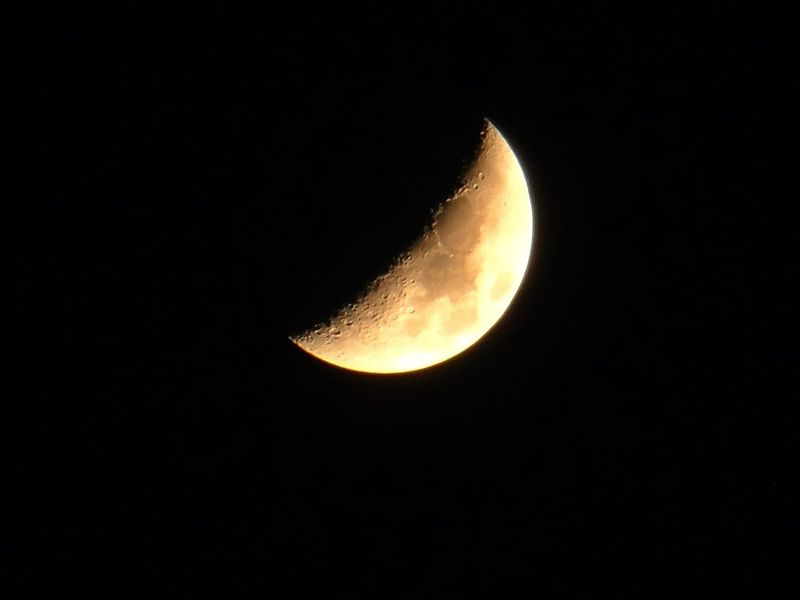 Moon Luna Mira La Luna! Meztli