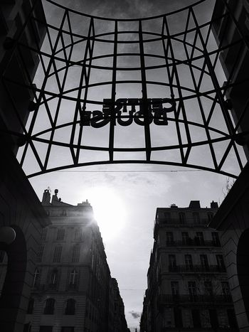 Marseille Bnw_collection Sunset Architecture Built Structure Building Exterior Travel Destinations Sky Day Outdoors Silhouette No People Skyscraper City