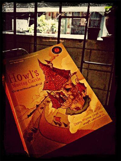นั่งอยู่ริมหน้าต่าง กับหนังสือและสายฝน Rainbow Raindy Day Howl's Moving Castle
