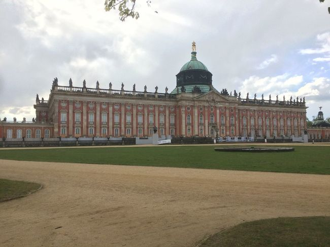 #Potsdam Architectural Column Architecture Building Exterior Built Structure City Cloud - Sky Day Dome Façade Government Grass History No People Outdoors Sky Travel Travel Destinations