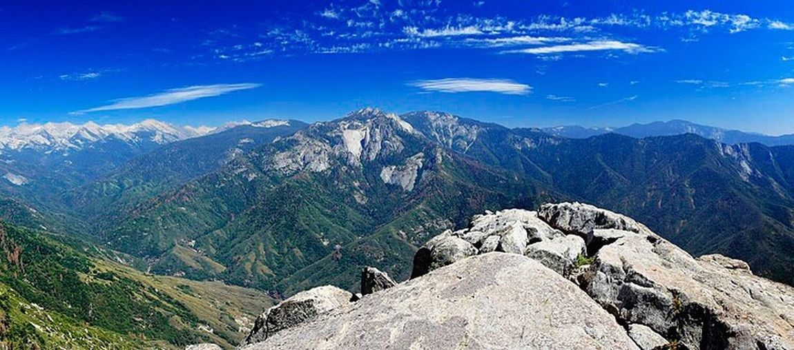 Sequoia National Park. Mountain Scenics Tranquil Scene Mountain Range Blue Tranquility Beauty In Nature Idyllic Sky Non-urban Scene Landscape Geology Physical Geography Mountain Peak Nature Majestic Remote Rock - Object Rock Formation Cliff Nature California Love Tourism Outdoors California