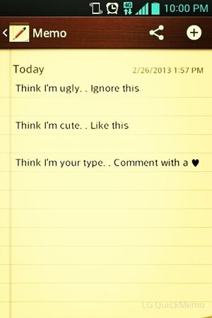 Likee ..... Comment ..... Ignore ..... ;D