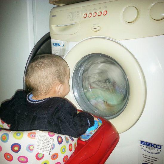 My Son :) & Washing Photography