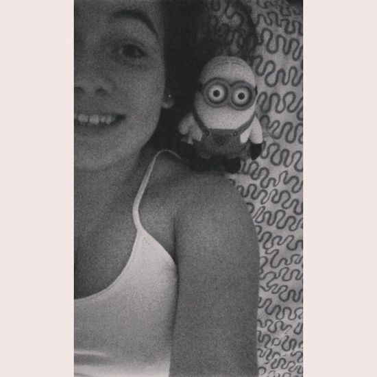 Gold night little monsters ? Endofday Bed Homesweethome Despicableme cadeau chatoon loooove namouur picoftheday
