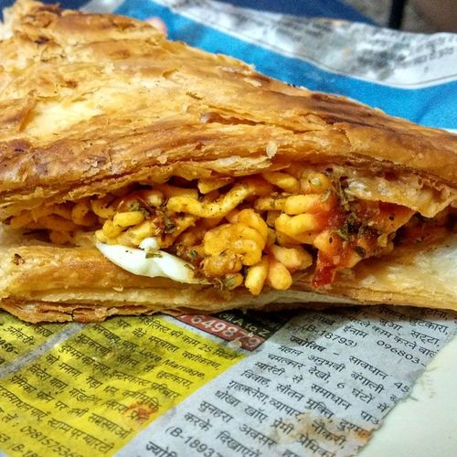 Grilled cheese samosa. 😍😍😍