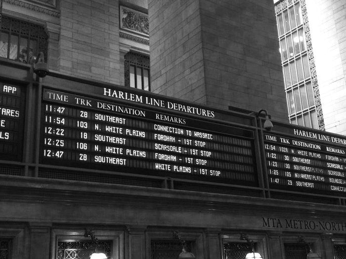 Departure from Harlem