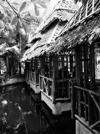 Nipa Hut Blackandwhite No People Built Structure Architecture Day Indoors  Hello World EyeEm Best Shots EyeEm Nature Lover Travel Photography The Great Outdoors - 2017 EyeEm Awards Breathing Space Investing In Quality Of Life Eyeem Philippines Travel Destinations