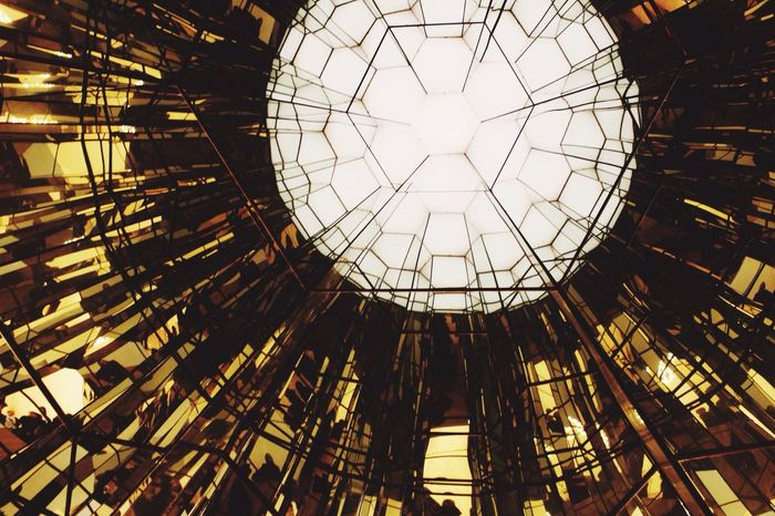 Showcase: February TheWeekOnEyeEM Art Museum Olafur Eliasson Gold Kaleidoscope 43 Golden Moments Beautifully Organized