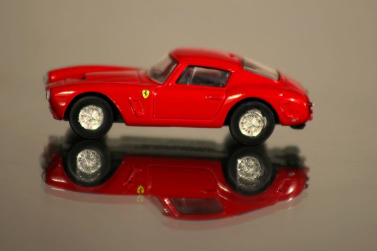 Car Close-up Collector's Car Ferrari 250 GT/E Luxury Motorsport No People Old-fashioned Red Reflection Retro Styled Shiny