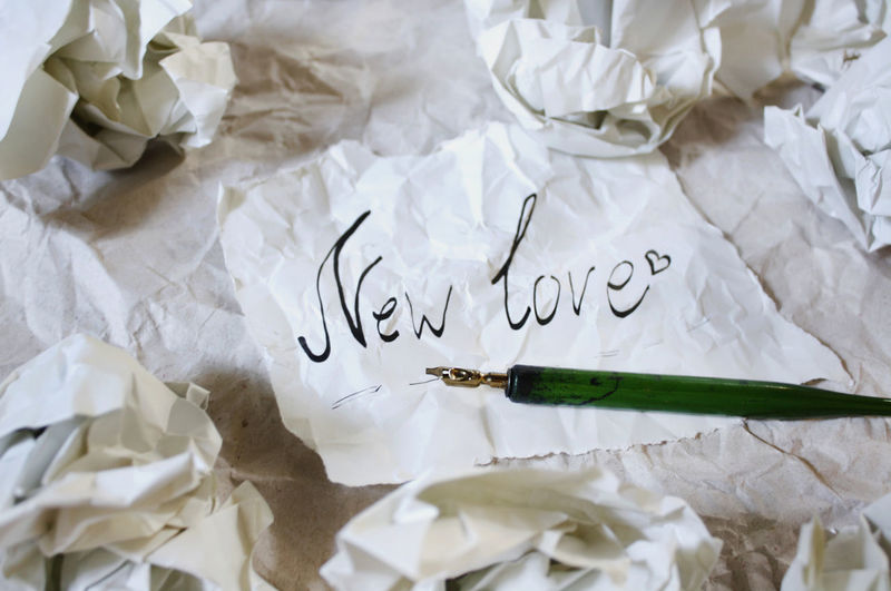 Crumpled up paper, new love 2 Crumpled Desktop Love Objects StillLifePhotography Stillife Text Textured Effect Textures and Surfaces Background Backgrounds Crumpled Crumpled Paper Crumpled Paper Ball Fountain Pen High Angle View Message No People Paper Paperwork Still Life Texture Wallpaper Words Written A New Beginning A New Perspective On Life 2018 In One Photograph #NotYourCliche Love Letter