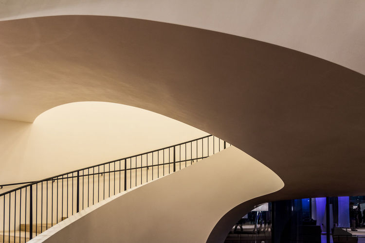 Entrance small hall Arch Architects Jacques Herzog, Pierre De Meuron Architecture Bridge - Man Made Structure Built Structure Construction Project Of The Century Day Elbphilharmony Hamburg Plaza View Hamburg Germany Indoor Landmark Modern Architecture Modern House No People Sky Staircase