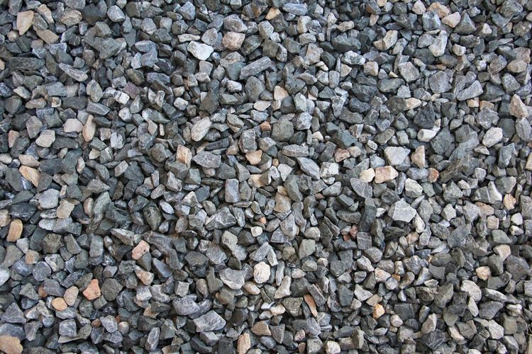 Full Frame Backgrounds Large Group Of Objects Stone - Object Abundance Rock Solid Pebble Stone Textured  No People Day Gray High Angle View Still Life Directly Above Nature Outdoors Gravel Rock - Object