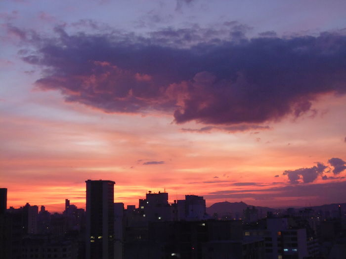 Sunset - Like Fire and Molten Lava in the Sky City Cityscape Skyline Sunset Photography Sunset Silhouettes Sunset And Clouds  Susan A. Case Sabir Unretouched Photography Beautiful Sunset Beauty In Nature Downtown São Paulo High Angle View Like Fire In The Sky Like Molten Lava In The Sky Month Of June No People Outdoors Painting In The Sky Sunset Sunset Skyline Sunset Skyline São Paulo Urban Skyline