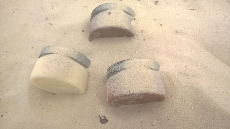 Organics Cleansed By Sand Natural Cosmetics New Product Miles Away No People Sand Lost In The Landscape