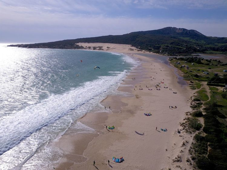 Beach Beauty In Nature Coastal Feature Coastline Day Drone  Drone Moments Dronephotography Drones Holiday Kite Flying Kitesurfing Landscape Nature Outdoors Sea Surfing Water Wave