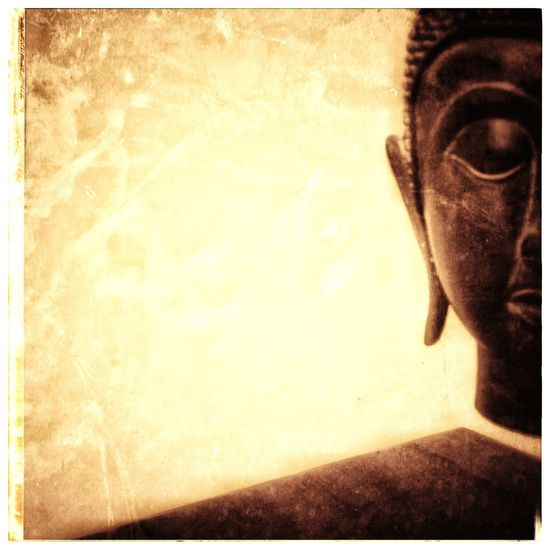 Buddha with Negative Space