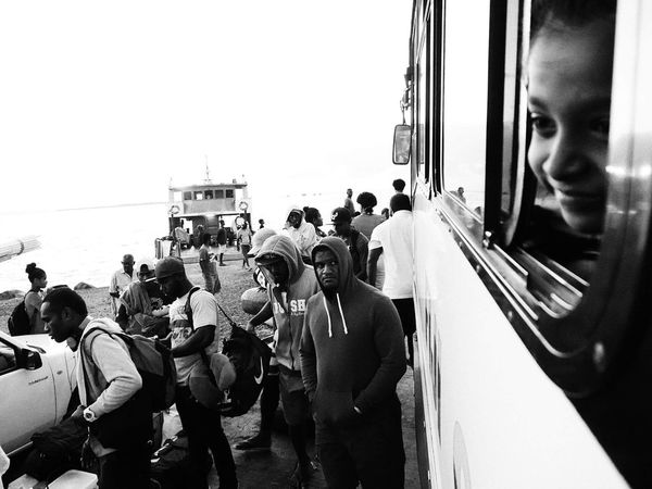 Finding New Frontiers Real People People Travel Transportation Blackandwhite SUVA FIJI ISLANDS Street Photography Streetphotography Black & White Traveling Home For The Holidays The Street Photographer - 2017 EyeEm Awards