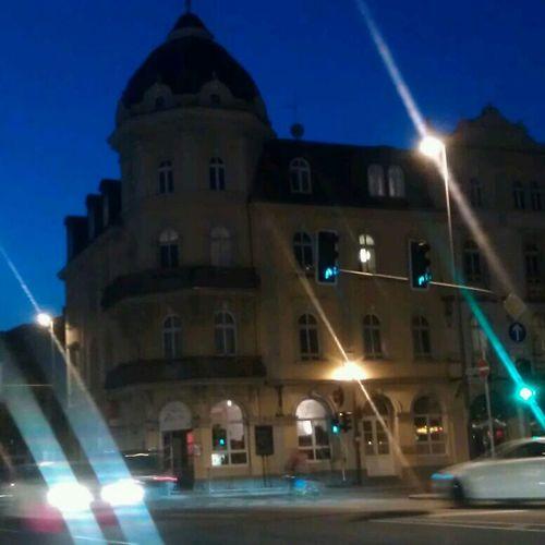 Awesome Architecture Blaue Stunde Cafe Zeitlos