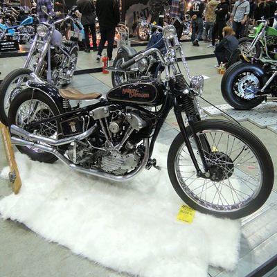 Yokohama hotrod custom show 2013 Hcs2013 Knucklehead Chopper Harley Davidson