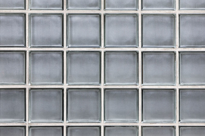 Full frame shot of glass brick wall Architecture City Decor Low Angle View Modern Textured  Textured Effect Abstract Abstract Backgrounds Architectural Feature Backgrounds Block Shape Building Exterior Built Structure Close-up Full Frame Glass - Material Glass Brick Pattern Repetition Sky Square Shape Symmetry Transparent Window