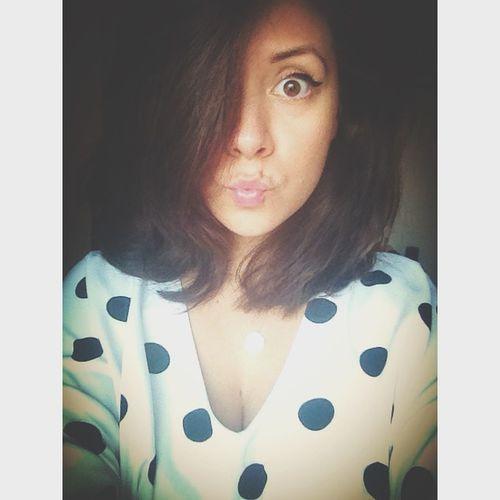 Sweet Dots Blackandwhite Haircut BigHair Dollface Fooling Around