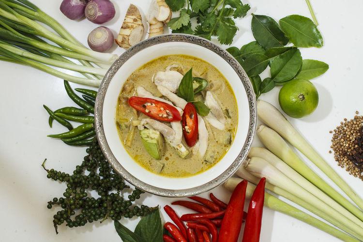 Original Thai Food Spicy Thai Spicy Thai Curry Spicy Thai Food Thai Curry Thai Curry Ingredients Thai Food Good Taste Thai Green Curry Soup