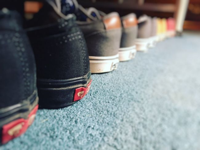Background Close-up Full Frame No People Shoe Shoes Skate Vans