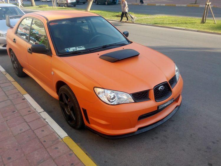 Subaru Subaru Impreza Wrx STi Custom Cars Custom EyeEm Selects Car Outdoors Day No People