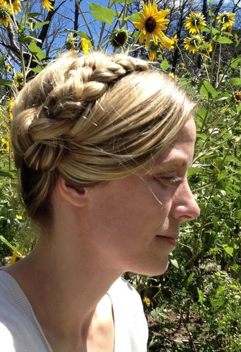Blonde Braids Hairstyles Natural Beauty Nordic Countries Updo Beautiful Woman Blond Blond Hair Blond Woman Blonde Girl Blonde Hair Blondehair Braid Close-up Contemplation Day Hair Hairstyle Headshot Human Face Leisure Activity Lifestyles Looking Nature Nature_collection One Person Outdoors Plant Portrait Profile View Real People Sunflowers Sunlight Wedding Hair Women Young Adult Young Woman Young Women