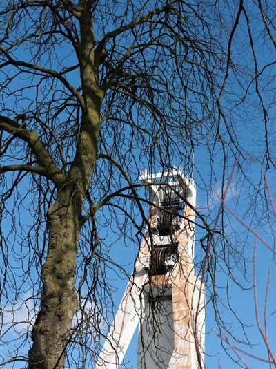 Industriedenkmal Schlägel & Eisen 3/4/7 Outdoors Schachtgerüst Sky Tree