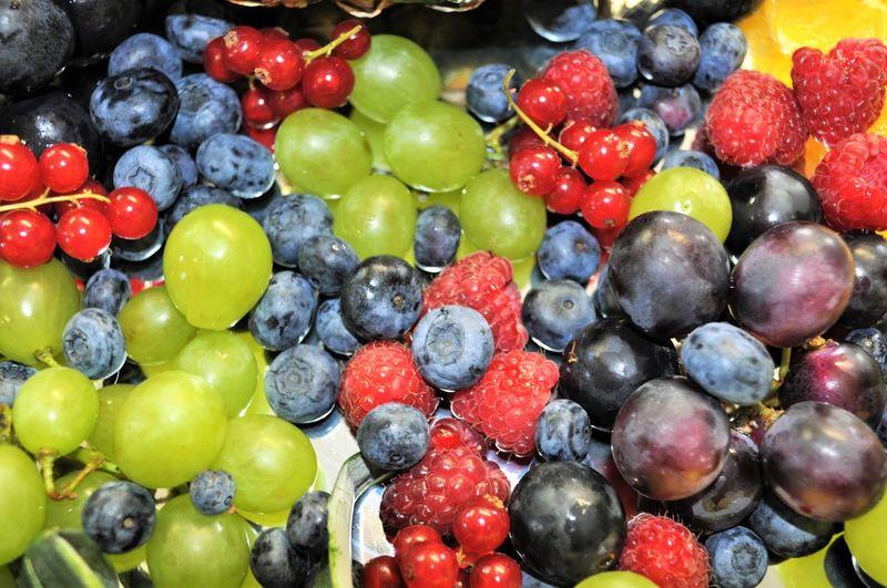 Full frame shot of various fruits