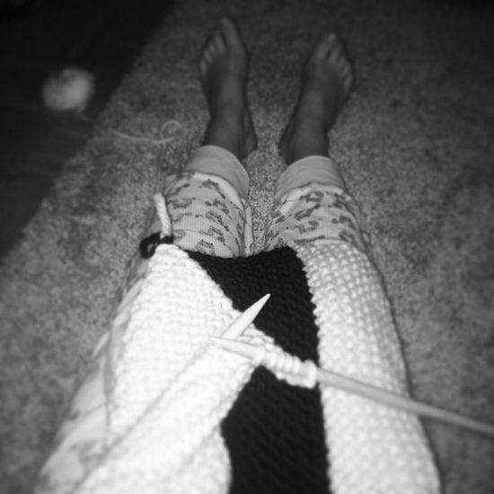 Abendbeschäftigung Knitting Instaknit Knitstagram